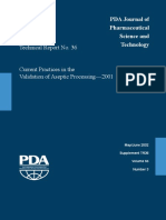 TR 36 2002 Current Practices of Aseptic Processing - 2001