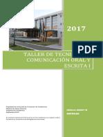 Dossier Taller Comunic Oral y Esc i