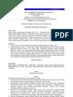 PP No 8 Tahun 2008 - Tentang ian APBD