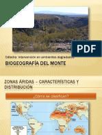 Clase de Biogeografìa