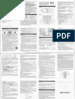 Emerson ER100101 Manual