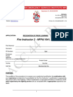 1.31 NFPA 1041 - Fire Instructor 2 - RPL Form 2017