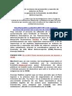 OCDE Evaluará Acciones de Prevención y Sanción de Soborno en Perú