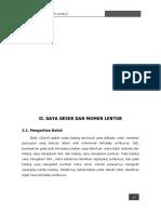 Gaya geser dan momen lentur.pdf