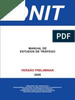 Manual de Estudos de Trafego