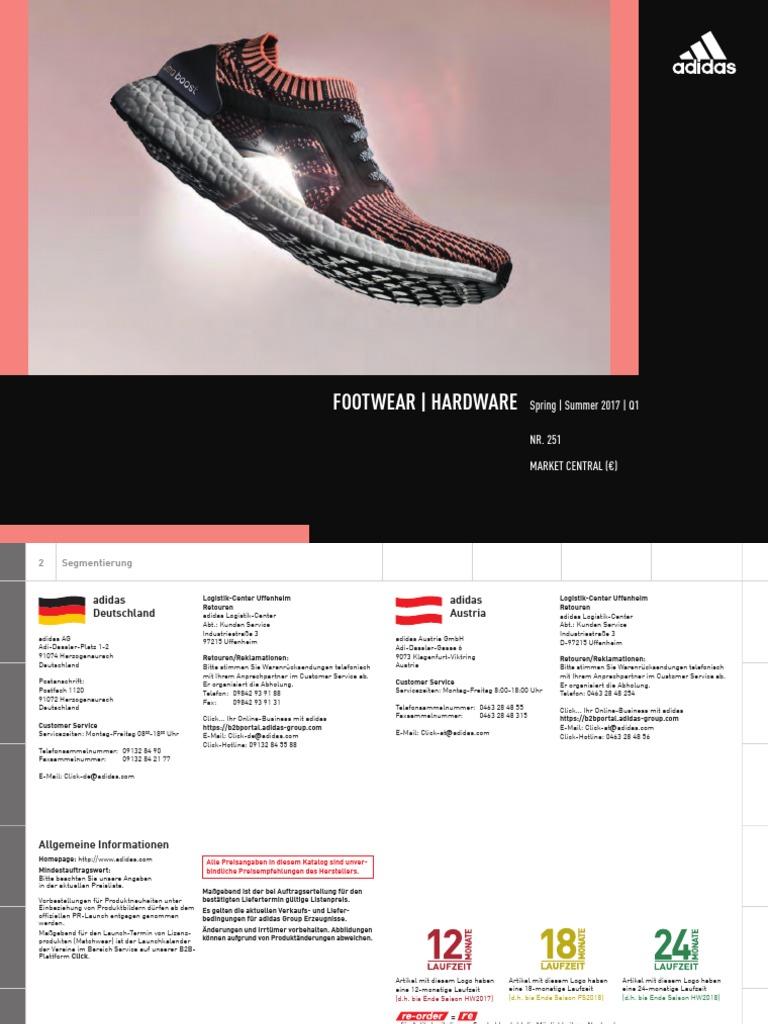 Adidas Catalogue