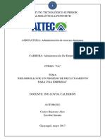 PROYECTO DE - DESARROLLO DE RECLUTAMIENTO PARA UNA EMPRESA.docx
