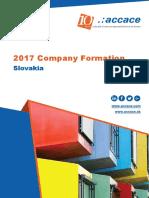 2017 Company Formation Slovakia