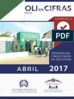 Boletín Estadístico Abril 2017