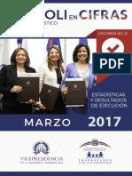Boletín Estadístico Marzo 2017