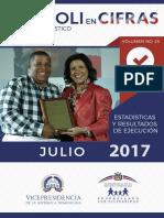 Boletín Estadístico Julio 2017