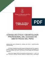 Código de Ética - Colegio de Obstetras.pdf