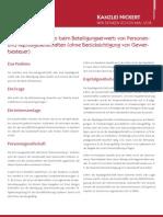 NICKERT Whitepaper - Refinanzierungszinsen beim Beteiligungserwerb