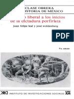 2. Del Estado Liberal a Los Inicios de La Dictadura Porfirista