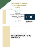 Taller de Normas Contables Internacionales (NIIF) - 2da Parte