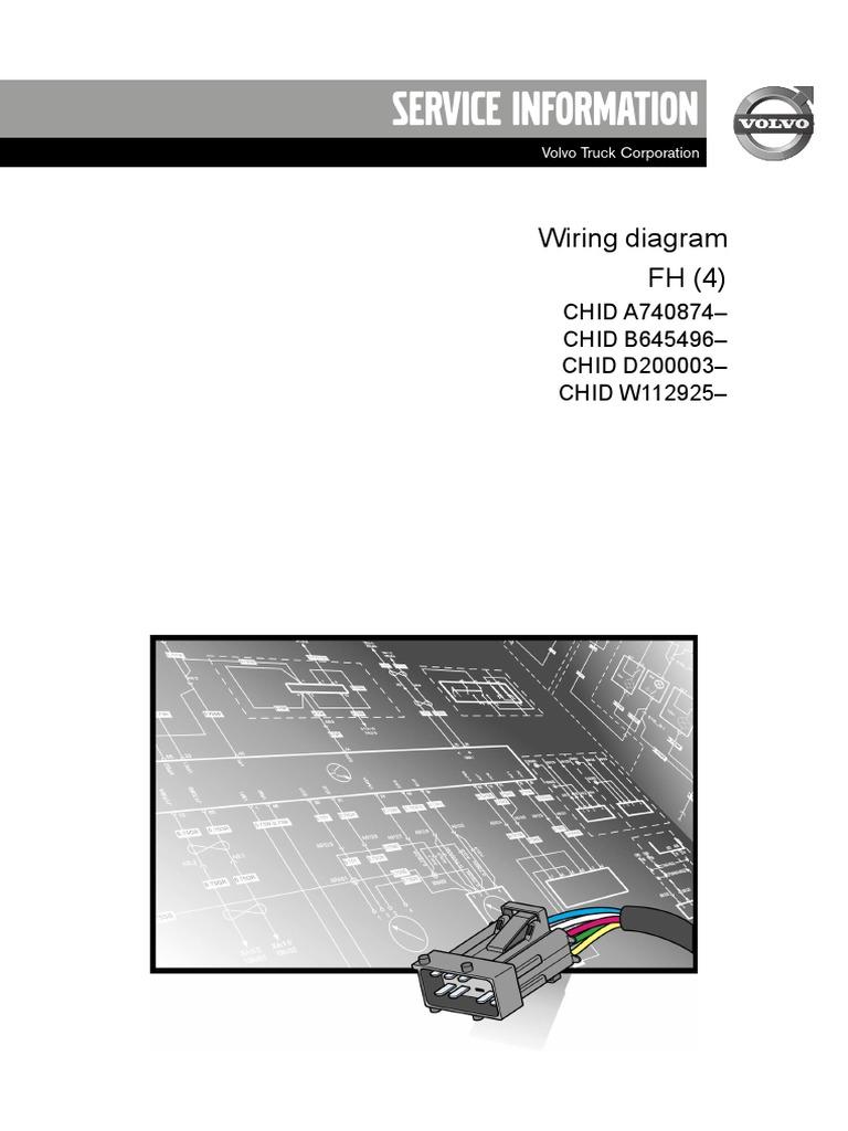 volvo FH 4.pdf | Transmission (Mechanics) | Vehicles | Volvo Fh13 Wiring Diagram |  | Scribd