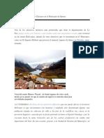 TURISMO DE MINAS y Glaciares en el Municipio de Quime.docx