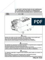 Hitach EC89 Compressor Manual