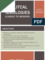 Politcal Ideologies