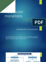 Valoración monetaria