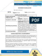 Evidencia 5 Matriz Potencial de Oportunidades Para Productos Colombianos