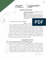 Casacion 617 2015 Huaura Determinacion Alternativa o Modificacion Del Tipo Penal en Segunda Instancia Legis.pe