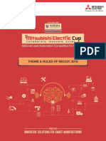 Review Rulebook ME Cup 2018
