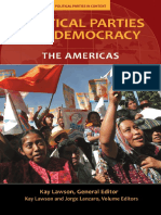 (Political Parties in Context) Kay Lawson, Jorge Lanzaro-Political Parties and Democracy_ Volume I_ The Americas-Praeger (2010).pdf