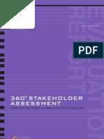 360˚ Stakeholder Assessment