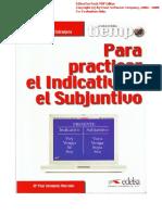 Tiempo Para Practicar El Indicativo y El Subjuntivo PDF