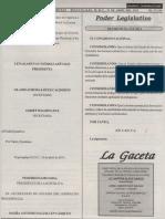 Ley de Fomento Para La Lectura y El Libro 2013