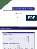 3. Producto de Matrices