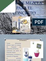 Agua de Mezcla Para El Concreto 2017-II