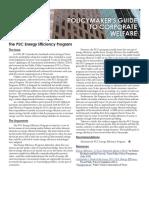 CWG - The PUC Energy Efficiency Program
