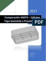 Comparacion ANSYS-CAEplex