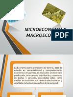 Micro y Macroeconomía