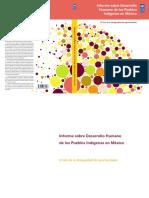 DDHH de Los Pueblos Indígenas Mx - PNUD
