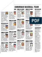 2010 NOW All-Suburban Baseball Team