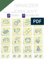 Polsko Niemiecki Slowniczek Budowlany
