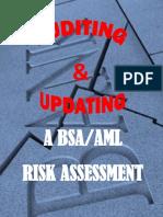 Auditing Updating an AML Risk Assessment Donna Davidek