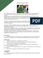 Proyecto de Huerta Escolar