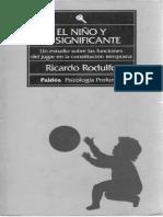 El niño y el significante - Ricardo Rodulfo.pdf