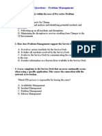 ITIL V2 Questions - Problem Management.doc