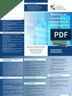 Brochur Maestria Estadistica Aplic (May2013)