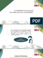 Marcos y Referencias Legales Del Ejercicio de La Ingeniería
