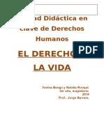 2014. Secuencia de Unidad Didáctica en Clave de Derechos Humanos