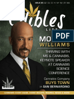 Edibles List Magazine Issue 38 Featuring Montel Williams