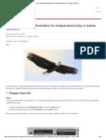 Create a Bald Eagle Illustration for Independence Day in Adobe Illustrator