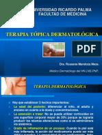 TERAPIA TOPICA DERMATOLOGICA-URP 2017.ppt