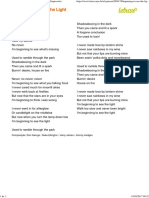 BEGINNING TO SEE THE LIGHT - Al Jarreau (Impressão).pdf